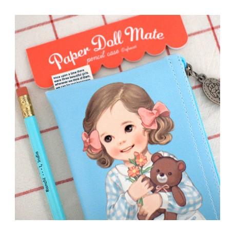 Paper Doll Mate Bows Pen Pouch