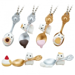Miniaturas Spoon Hamster Gashapon