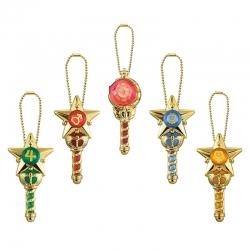 Colgante Sailor Moon Prism Crystal Stick & Rod Gashapon
