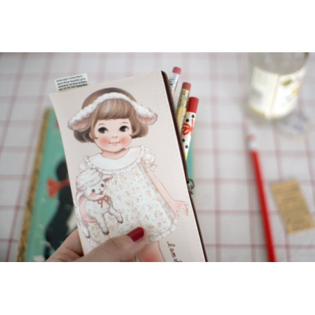 Paper Doll Mate Headband Pen Pouch