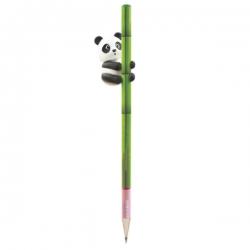 Lápis I ♥ Bamboo Panda Ponteira 3D