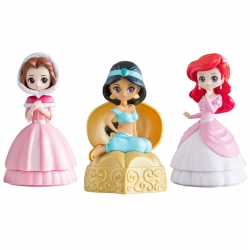 Disney Princess Heroine Doll Capchara Figure Series 3 Gashapon
