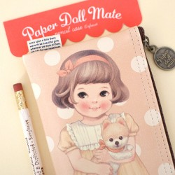 Estojo Paper Doll Mate Pets