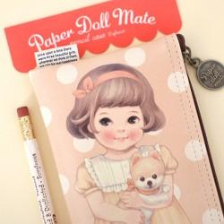 Paper Doll Mate Pets Pen Pouch