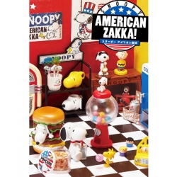 Re-Ment Snoopy American Diner Zakka!