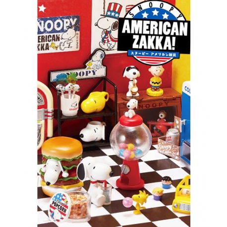 Snoopy American Diner Zakka! Re-Ment