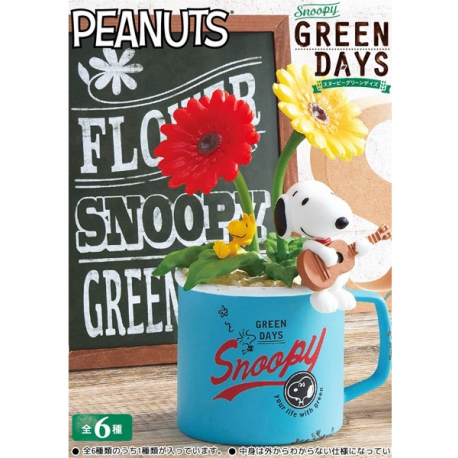 Snoopy Green Days Re-Ment