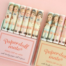 Paper Doll Mate Pencil Caps