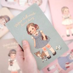 Caderno Diário Paper Doll Mate