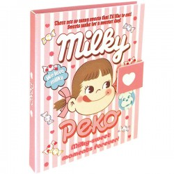 Livro Post-Its Peko-Chan Milky