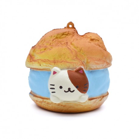 Squishy Kitty Cream Puff