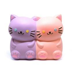 Kitty Twins Chigiri Bread Squishy