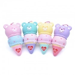 Squishy Care Bears Double Ice Cream
