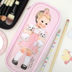 Estuche Make Up Slim Paper Doll Mate