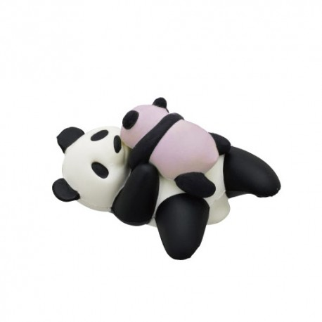 Panda Pose Squishy Gashapon