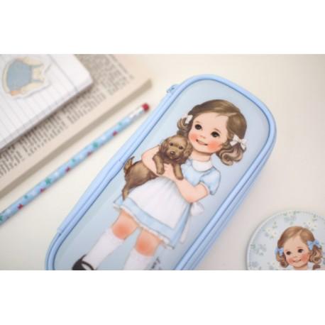 Bolsa Make Up Slim Paper Doll Mate