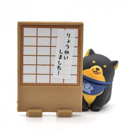 Miniaturas Mochi Shiba Gashapon