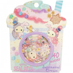 Sentimental Circus Seal Bits Stickers Sack