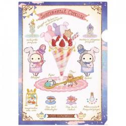 Carpeta Sentimental Circus Cafe Futagoboshi