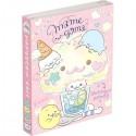 Livro Blocos Notas Mamegoma Cafe Cotton Candy