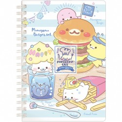 Mamegoma Cafe Burger Set B6 Notebook