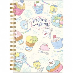 Mamegoma Cafe Menu B6 Notebook