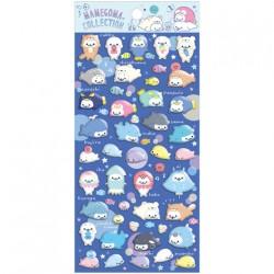Stickers Puffy Mamegoma Aquarium