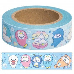 Washi Tape Mamegoma Aquarium