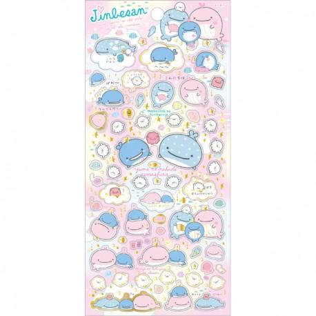 Stickers Jinbesan Maigo Kokujira Dream