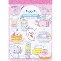 Mamegoma Cafe Menu Mini Memo Pad