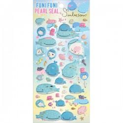 Stickers Puffy Jinbesan Funi Funi Pearl