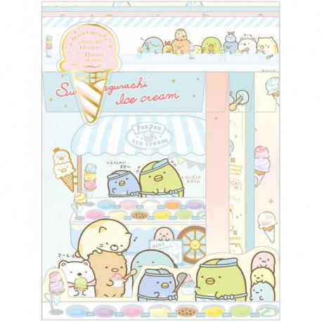 Set Cartas Sumikko Gurashi Ice Cream