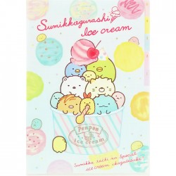 Sumikko Gurashi Ice Cream Index File Folder