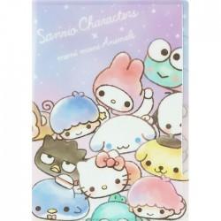 Sanrio Characters x Moni Moni Animals Index File Folder