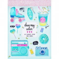 Mini Bloco Notas Choo My Color Mint Cosmo