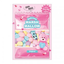 Choo My Color Marshmallow Memo Pad