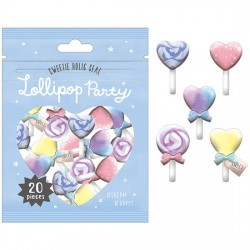 Saco Stickers Lollipop Party