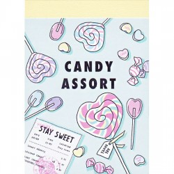 Candy Assort Mini Memo Pad