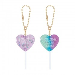 Shiny Candy Lollipop Charm