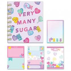 Libro Notas Adhesivas Very Many Sugar