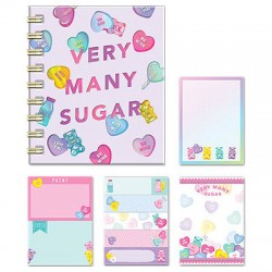 Very Many Sugar Sticky Notes Book