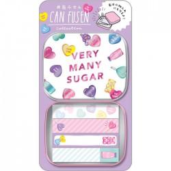 Caja Notas Adhesivas Very Many Sugar Can Fusen