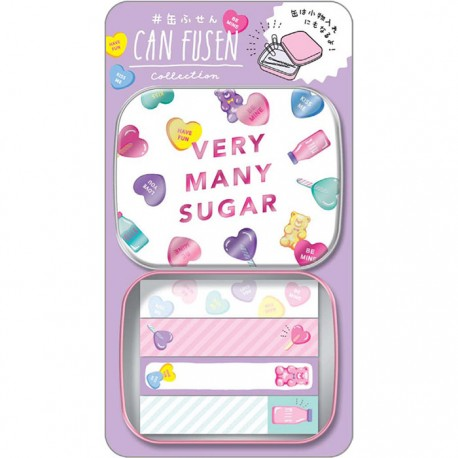 Very Many Sugar Can Fusen Sticky Notes