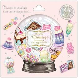 Bolsa Pegatinas Miraneige American Sweets