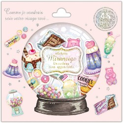 Miraneige American Sweets Stickers Sack