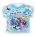 Summer T-Shirt Sanrio Characters Stickers Sack
