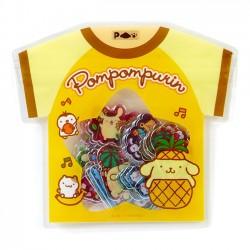 Saco Stickers Summer T-Shirt Pompom Purin