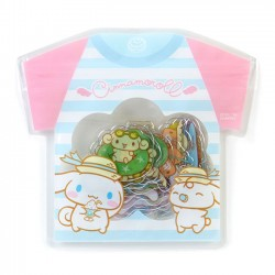 Saco Stickers Summer T-Shirt Cinnamoroll