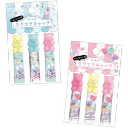 Lollipop Party Gummy Bear Pencil Caps