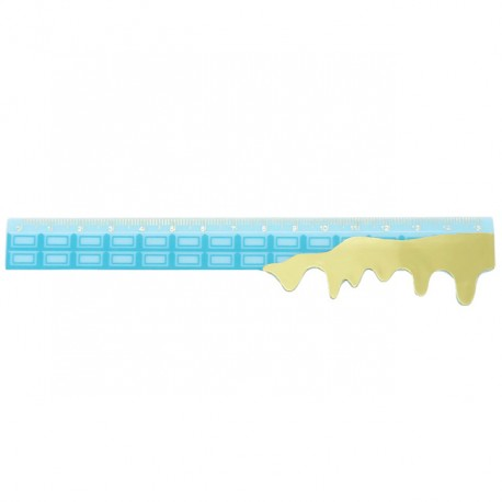 Sweet Pop Melted Chocolate Ruler